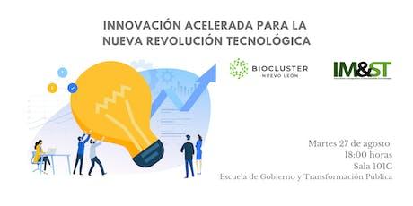 Innovación acelerada para la nueva revolución tecnológica boletos