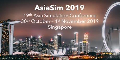 AsiaSim 2019 tickets