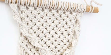 Macramé Wall Hanging Workshop tickets