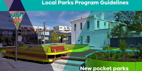 Local Parks Program - New Dog and Pocket Parks Briefing tickets
