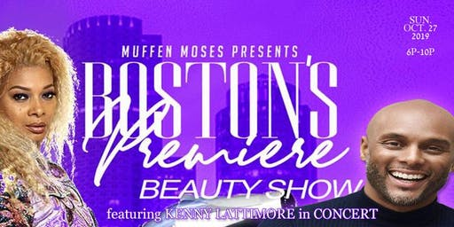 KENNY LATTIMORE IN CONCERT at Boston's Premiere Beauty Show (The Battle of the Sexes)