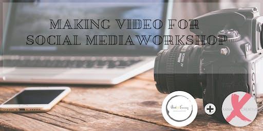 Making video for social media