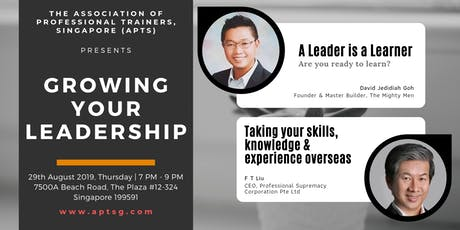 APTS Workshops: Growing Your Leadership tickets