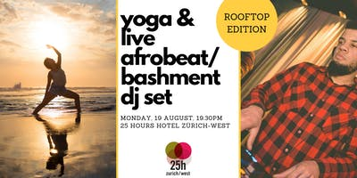Yoga & live Afrobeat/Bashment DJ set – Rooftop edition - FRIENDS TICKET