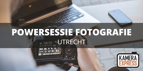 Powersessie Fotografie Utrecht tickets