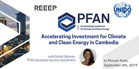 Accelerating Investment for Climate and Clean Energy in Cambodia tickets