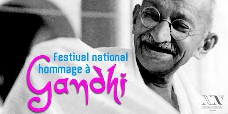 Festival national : Hommage à Gandhi pour son 150e anniversaire billets