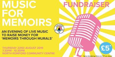 Music for Memoirs: Fundraiser
