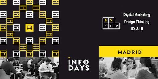 INFO DAYS: Design Thinking & Business Innovation. Master class gratuita.