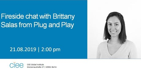 Fireside Chat with Brittany Salas from Plug and Play Tickets