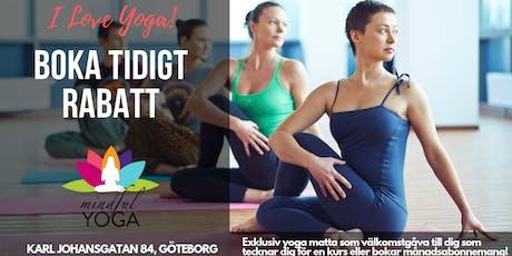 Gratis Sommar Yoga på Mindfull Yoga i Majorna biljetter