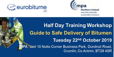 Eurobitume / MPANI Guide to Safe Delivery of Bitumen Workshop