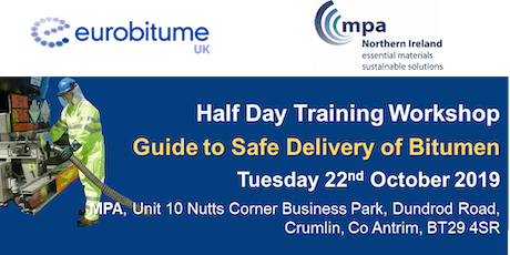 Eurobitume / MPANI  Guide to Safe Delivery of Bitumen Workshop tickets