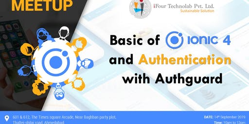 Basic of IONIC 4 and Authentication with Authguard