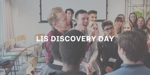 LIS Discovery Day - 4th December