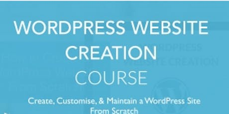 2 Days WordPress Web Design Course for beginners tickets