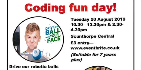 Coding Fun Day tickets