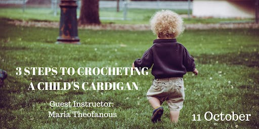 3 Steps to Crocheting a Child's Cardigan