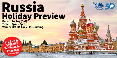 Russia Holiday Preview  tickets