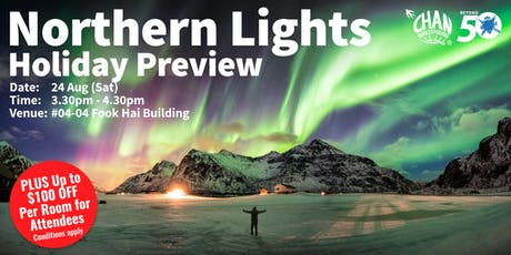 Northern Lights Holiday Preview tickets