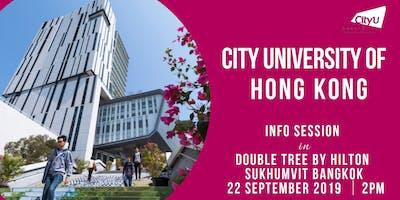 CityU HK Information Session in Bangkok, Thailand