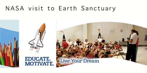 NASA to visit Earth Sanctuary