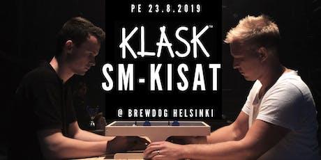 KLASK SM-kisat 2019 tickets