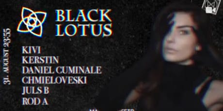 BLACK LOTUS (FLASH Rec. – Berlin) ►► Dark Summer! Tickets