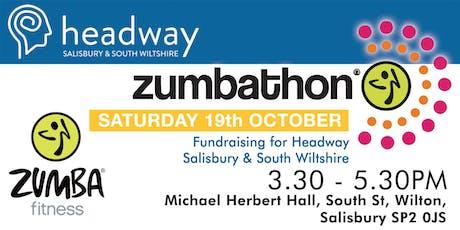 Zumba Fitness Zumbathon for Headway Salisbury & South Wiltshire tickets