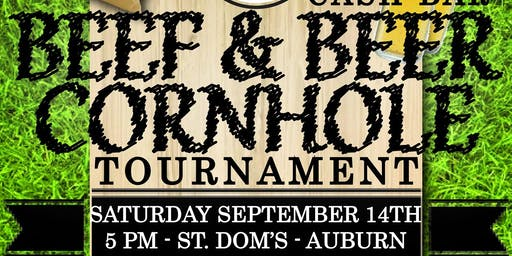 2nd Annual Beef & Beer Cornhole Tournament