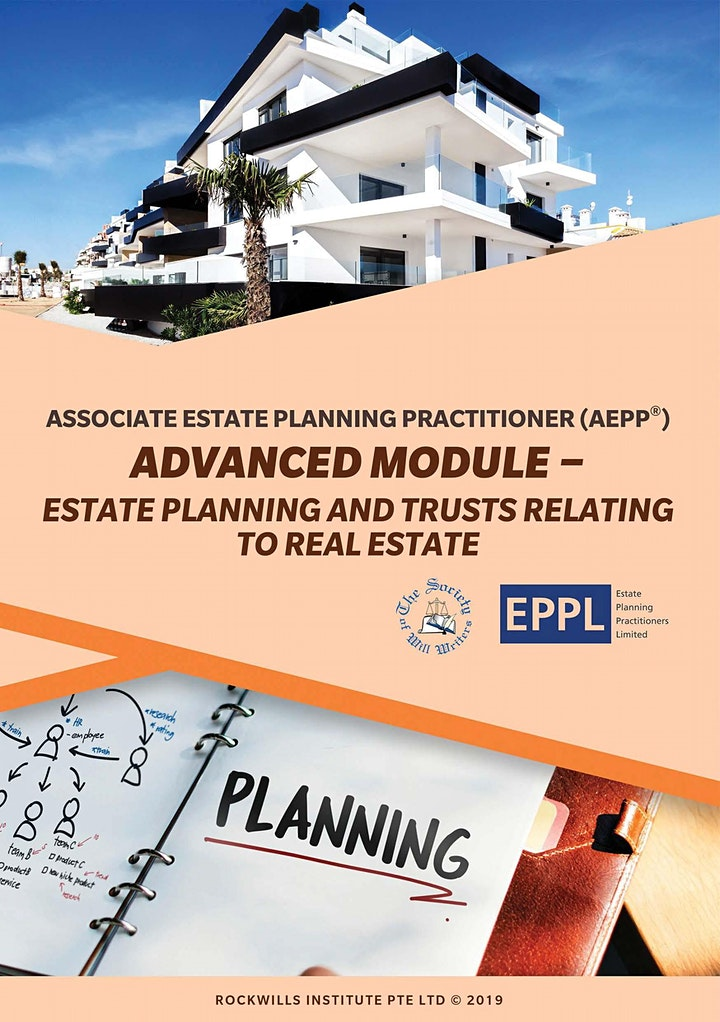 AEPP Course on Estate Planning & Trust relating to Real Estate image