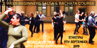 8 WEEKS BEGINNERS SALSA & BACHATA COURSE