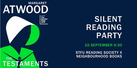 MARGARET ATWOOD'S THE TESTAMENTS: Silent Reading Party tickets