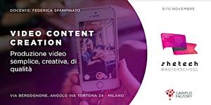 Shetech Masterschool: Video Content Creation