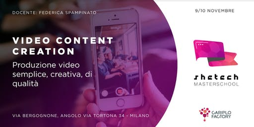 Shetech Masterschool: Video Content Creation