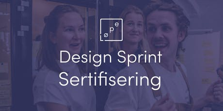 Design Sprint Sertifisering tickets