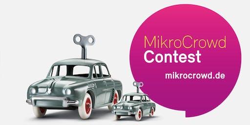 Kick-off Workshop zum MikroCrowd-Contest
