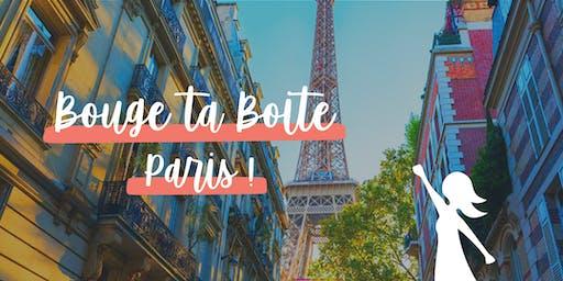 BougeUP Géant à Paris par le  réseau business féminin Bouge ta Boite