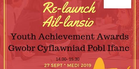 Re-launch Youth Achievement Award (North) - Ail-lansio Gwobr Cyflawniad Pobl Ifanc (Gogledd) tickets