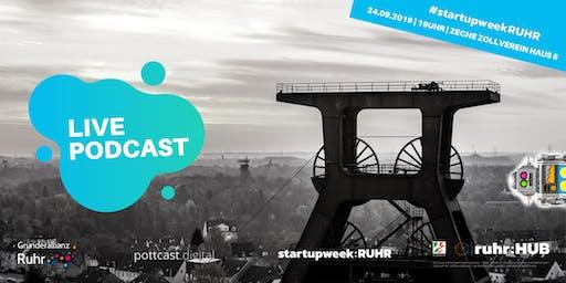 Live-Podcast: So heben Startups ihre Sales auf das nächste Level