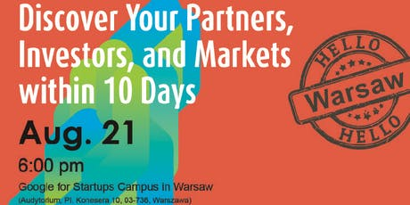 Discover Business Opportunities in Asia! - Networking Event@Warsaw tickets