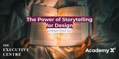 The Power of Storytelling for Design tickets