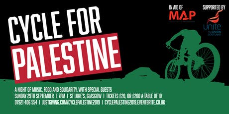 Cycle for Palestine 2019 - in aid of Medical Aid for Palestinians tickets