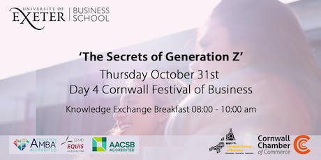 University of Exeter Business School Breakfast Networking Event tickets