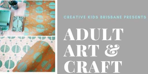 Adult Art & Craft Night: Linen Lino Printmaking