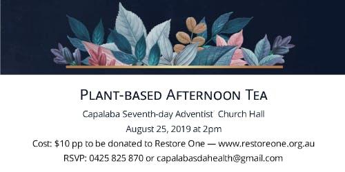 Plant-based Afternoon Tea