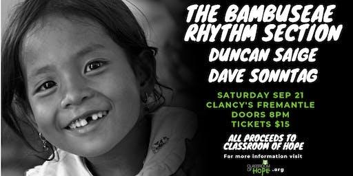 The Bambuseae Rhythm Section, Duncan Saige, Dave Sonntag