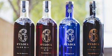 6 O'Clock Gin Dinner tickets