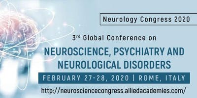 3rd Global Conference on Neuroscience, Psychiatry and Neurological Disorder