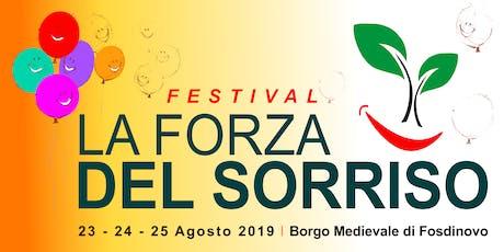 La Forza del Sorriso Festival biglietti